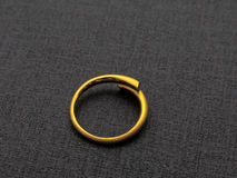 Gold ring Stock Photos