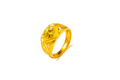 Gold Ring. Eastphoto, Gold Ring , Still Life, Artwork Royalty Free Stock Photos