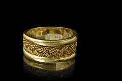 Gold ring Royalty Free Stock Photography