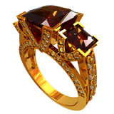 Gold ring Royalty Free Stock Photo