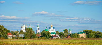 Gold ring of Russia. Rostov Veliky Stock Images
