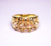 Gold ring Royalty Free Stock Photos