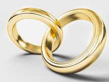 Gold ring Royalty Free Stock Images