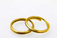Gold rings Royalty Free Stock Image