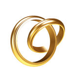 Gold rings Stock Photos