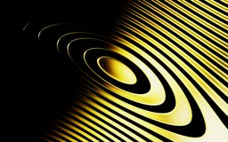 Gold rings with shadows royalty free stock photos