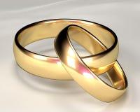 Gold Rings vector illustration