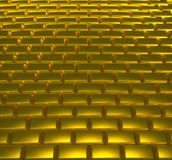 Gold Road Royalty Free Stock Photography