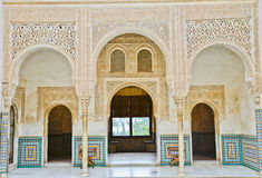 The Gold Room. La Alhambra Royalty Free Stock Photography