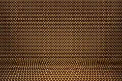 Gold Room Background Stock Image