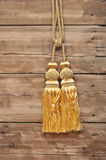 Gold rope Royalty Free Stock Photography