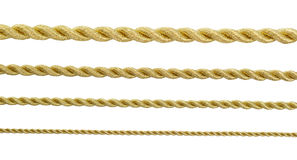 Gold rope Royalty Free Stock Image