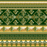 Gold royal ornament Royalty Free Stock Images