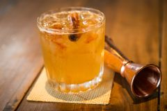 Gold rush drink zk ch. This simple sour has a name that calls to mind a 19th-century classic, but it`s much more modern than that. Bartender T. J. Siegal created Royalty Free Stock Image