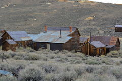 Gold Rush Ghost Town - Bodie California Royalty Free Stock Images
