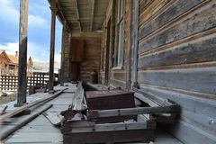 Gold Rush Ghost Town - Bodie California Stock Images