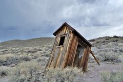 Gold Rush Ghost Town - Bodie California Stock Photo