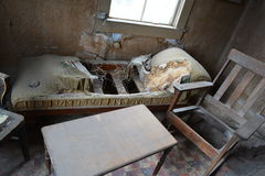 Gold Rush Ghost Town - Bodie California Royalty Free Stock Photo