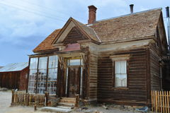 Gold Rush Ghost Town - Bodie California Stock Image