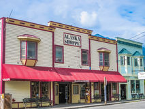 Gold rush town, Skagway, Alaska Stock Images