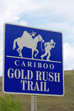 Gold Rush Trail Stock Photography