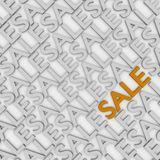 Gold sale Royalty Free Stock Image