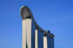 Gold Sand Casino, Singapore. Gold Sand Casino located in Marina Bay, Opening soon stock photos