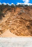 Gold Sand Color Hillside  Stock Images