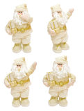 Gold Santa Claus Stock Photography