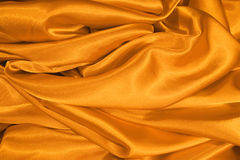 Gold satin Royalty Free Stock Photo