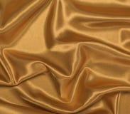 Gold Satin Draped Background Royalty Free Stock Image