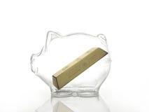 Gold savings Stock Photography