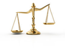 Gold scale Royalty Free Stock Photo