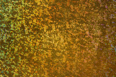 Gold Scale Background, Scaly Fabric Pattern, Abstract Texture Stock Photography