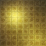 Gold Screen. This graphic is Japanese texture Stock Photography