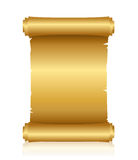 Gold script Royalty Free Stock Photography