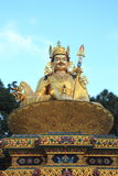 Gold sculpture of Shiva In Nepal. Stock Images