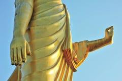 Gold Sculpture of temple Stock Photos