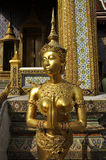 Gold Sculpture Woman Model Thailand Beg Royalty Free Stock Photos