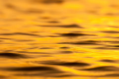 Gold sea Stock Image