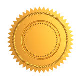 Gold seal Royalty Free Stock Photos