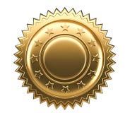 Gold seal stock illustration