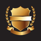 Gold Seal logo Royalty Free Stock Image