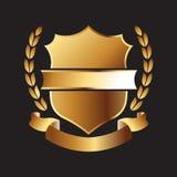 Gold Seal logo Royalty Free Stock Image