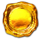 Gold seal Royalty Free Stock Images