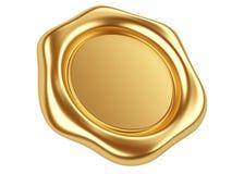 Gold seal Royalty Free Stock Image