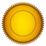 Gold Seal Stock Photography