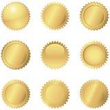 Gold Seals Stock Image