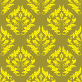 Gold seamless background Royalty Free Stock Images