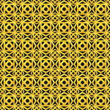 Gold seamless geometric pattern. Decorative background for cards, illustration, poster and web design Royalty Free Stock Photo